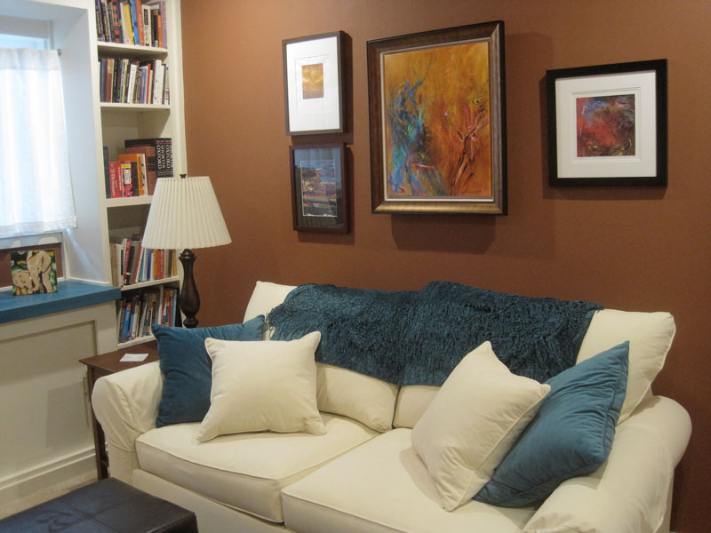 01 Interior Design Richmond Home Office Couch DLeavitt  ...