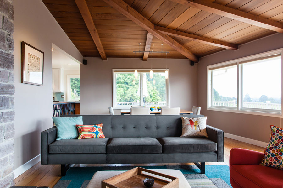 Modern Furniture East Bay mid-century modern home