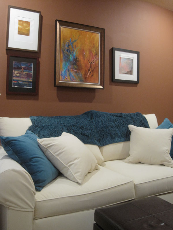 Great Terracotta Teal Den With