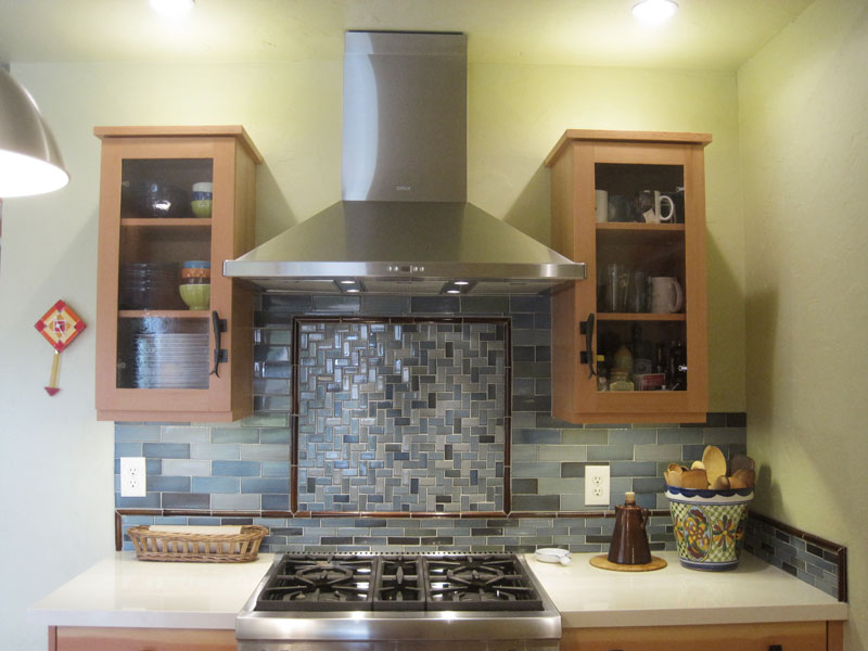 Great ... 02 Kitchen Remodel Pottery Stove Counter2 Interior Design  ...