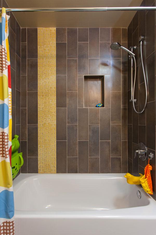 ... 06 Mid Century Design Guest Bathroom Tile Cantu  ...