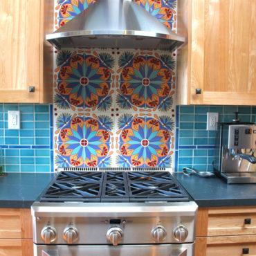 Colorful Mediterranean Kitchen