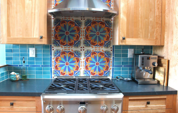 Colorful Mediterranean Kitchen
